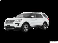 2018 Ford Explorer PLATINUM | Photo 3 | White Platinum Metallic