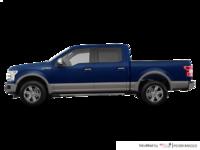 2018 Ford F-150 LARIAT   Photo 1   Blue Jeans Metallic/Stone Grey