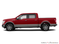 2018 Ford F-150 LARIAT   Photo 1   Ruby Red Metallic/Stone Grey