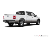 2018 Ford F-150 LARIAT   Photo 2   White Platinum Metallic/Stone Grey