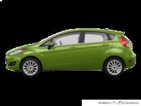 2018 Ford Fiesta Hatchback TITANIUM | Photo 1 | Outrageous Green