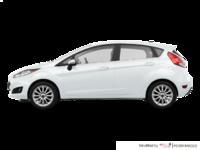 2018 Ford Fiesta Hatchback TITANIUM | Photo 1 | White Platinum