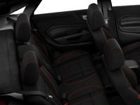 2018 Ford Fiesta Sedan SE | Photo 2 | Charcoal Black Unique Cloth Bolster w/Red Seat Stitching (GE)