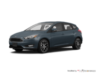 2018 Ford Focus Hatchback SEL   Photo 3   Blue Metallic