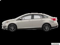 2018 Ford Focus Sedan SEL   Photo 1   White Gold