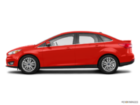 2018 Ford Focus Sedan TITANIUM | Photo 1 | Hot Pepper Red Metallic