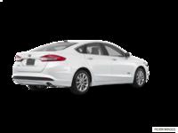 2018 Ford Fusion Energi SE | Photo 2 | White Platinum