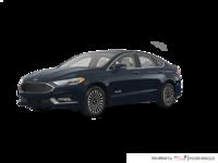 2018 Ford Fusion Hybrid PLATINUM | Photo 3 | Blue Metallic
