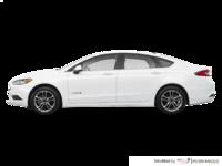 2018 Ford Fusion Hybrid S | Photo 1 | Oxford White