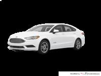 2018 Ford Fusion Hybrid S | Photo 3 | Oxford White