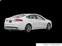 2018 Ford Fusion Hybrid SE   Photo 2   White Platinum