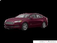 2018 Ford Fusion Hybrid SE   Photo 3   Burgundy Velvet