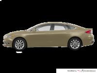 2018 Ford Fusion PLATINUM | Photo 1 | White Gold