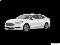 2018 Ford Fusion S | Photo 3 | Oxford White