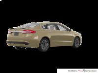 2018 Ford Fusion TITANIUM | Photo 2 | White Gold