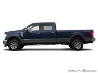 2018 Ford Super Duty F-250 KING RANCH   Photo 1   Blue Jeans /Stone Grey