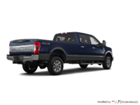 2018 Ford Super Duty F-250 KING RANCH   Photo 2   Blue Jeans /Stone Grey
