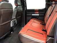 2018 Ford Super Duty F-250 KING RANCH   Photo 2   Unique King Ranch Java Kingsville Brown Leather Captain's Chairs (SP)