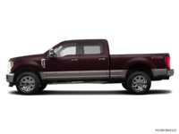 2018 Ford Super Duty F-250 LARIAT | Photo 1 | Magma Red/Stone Grey