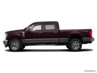 2018 Ford Super Duty F-250 LARIAT | Photo 1 | Magma Red/Magnetic