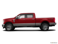 2018 Ford Super Duty F-250 LARIAT | Photo 1 | Ruby Red/Stone Grey
