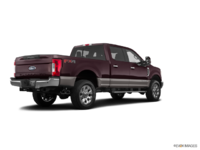 2018 Ford Super Duty F-250 LARIAT | Photo 2 | Magma Red/Stone Grey