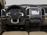 2018 Ford Super Duty F-350 LARIAT | Photo 3 | Camel Premium Leather Split Bench(6A)