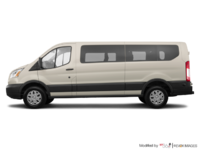 2018 Ford Transit WAGON XLT | Photo 1 | White Gold Metallic