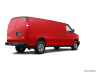 2018 GMC Savana 3500 CARGO | Photo 2 | Cardinal Red