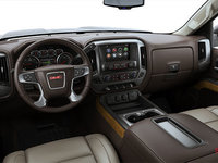 2018 GMC Sierra 1500 SLT | Photo 3 | Cocoa/Dune Bucket seats Perforated Leather (AN3-H3A)