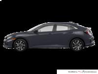 2018 Honda Civic hatchback LX HONDA SENSING | Photo 1 | Polished Metal Metallic