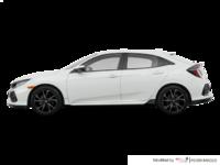 2018 Honda Civic hatchback SPORT HONDA SENSING | Photo 1 | White Orchid Pearl