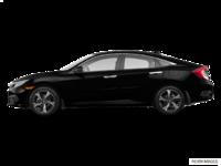 2018 Honda Civic Sedan TOURING   Photo 1   Crystal Black Pearl