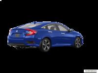 2018 Honda Civic Sedan TOURING   Photo 2   Aegean Blue Metallic