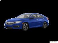 2018 Honda Civic Sedan TOURING   Photo 3   Aegean Blue Metallic