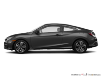 2018 Honda Civic Coupe EX-T HONDA SENSING   Photo 1   Modern Steel Metallic