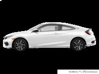 2018 Honda Civic Coupe LX-HONDA SENSING | Photo 1 | Taffeta White