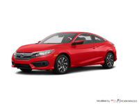 2018 Honda Civic Coupe LX-HONDA SENSING | Photo 3 | Rallye Red