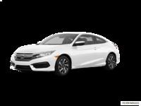 2018 Honda Civic Coupe LX   Photo 3   Taffeta White