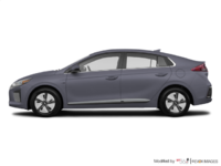2018 Hyundai Ioniq Hybrid BLUE   Photo 1   Aurora Silver