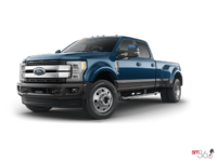 2018 Ford Super Duty F-450 KING RANCH | Photo 3 | Blue Jeans Metallic/Stone Grey