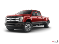 2018 Ford Super Duty F-450 KING RANCH | Photo 3 | Ruby Red/Stone Grey
