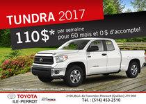 Le Tundra 2017 en vente !