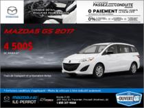 Obtenez la Mazda5 2017 aujourd'hui!