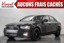 2014 Audi A4 2014+AWD+CUIR+TOIT+BLUETOOTH+SIEGES CHAUFFANTS