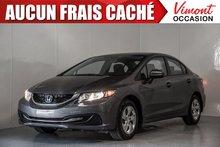 2014 Honda Civic Sedan 2014+LX+A/C+GR ELEC COMPLET+SIEGES CHAUFFANTS