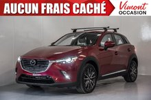 2016 Mazda CX-3 2016+GT+AWD+TECHNOLOGIE+CUIR+NAV+CAMERA RECUL