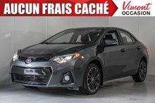 Toyota Corolla S TOIT OUVRANT MAGS CAMERA DE RECUL 2015