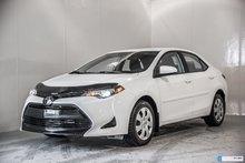 Toyota Corolla DÉMO LE 1800$ ACCESSOIRES 2018