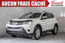 Toyota RAV4 LE+FWD+CAMÉRA+SIÈGES CHAUFFANTS+ 2014